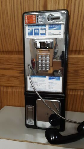 AT&T Vintage Bell Western Electric Bell Atlantic Touch Tone Pay Phone for Home U