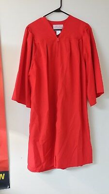 "CONFIRMATION ROBE RED ROSE THERESE 5'3"" - 5'5"""
