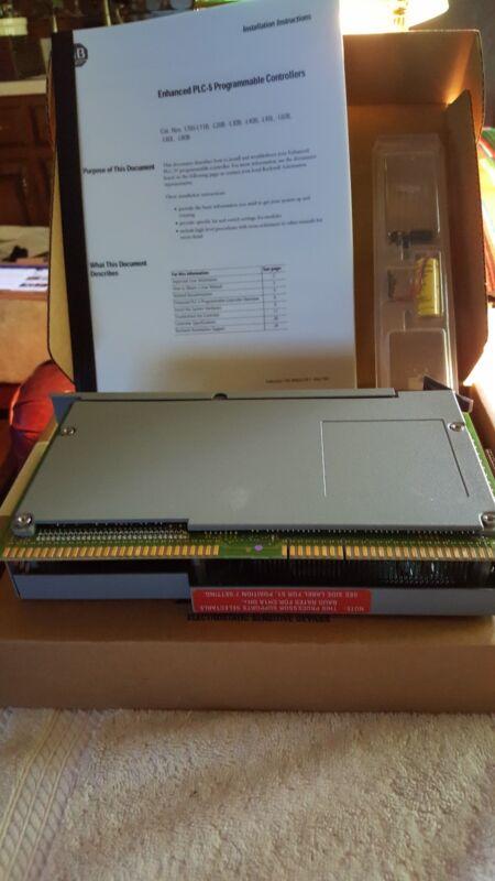 New  Allen Bradley  1785-l80b  Ser  E  Rev Y01  2007  Processor  1785l80b/e  New