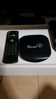 Real TV HD box with Remote