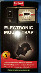 RENTOKIL ELECTRONIC MOUSE TRAP FE35