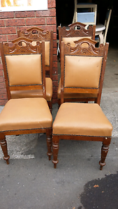 4 oak dining chairs Glenorchy Glenorchy Area Preview