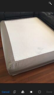 QUEEN SIZE BED WITH FRAME FOR SALE