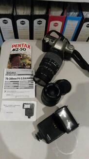 Pentax MZ-50 Camera Plus Accessories