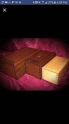 custom made wooden cremation urns