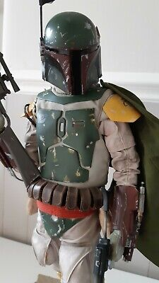 STAR WARS SIDESHOW COLLECTIBLES BOBA FETT Premium Format Statue LIMITED EDITION