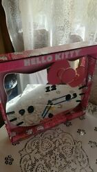 SANRIO HELLO KITTY MIRROR WALL CLOCK IN BOX MEASURES 12 by 10