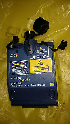 Fluke Networks Dtx-gfm2 Gigabit Multimode Fiber Module For Dtx Cable Analyzer