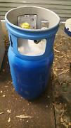 Forklift LP Gas refillable bottle tank BBQ 15kg St Kilda Port Phillip Preview