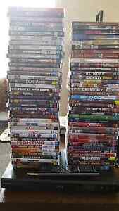 Sony Blue ray player plus 80 dvds Mernda Whittlesea Area Preview