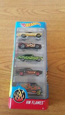 Hot Wheels Hw Flames 5-Car Pack
