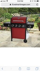 Used barbecue