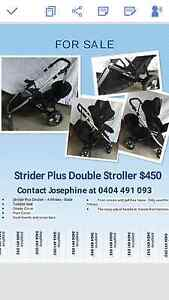 Strider Plus Double Stroller Carlingford The Hills District Preview