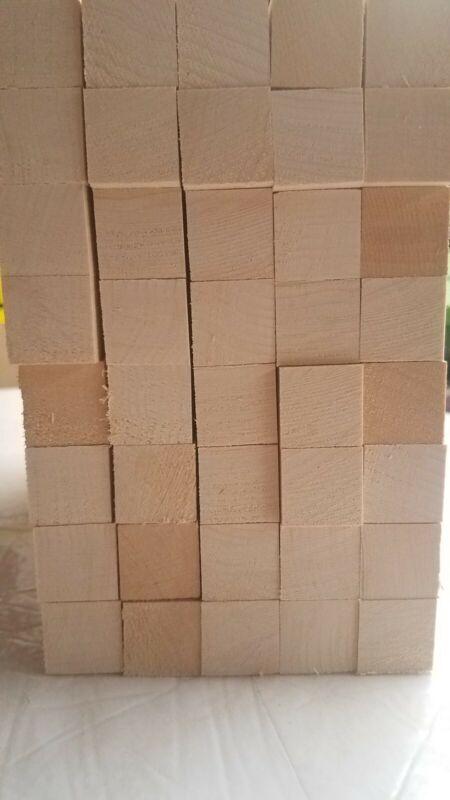 "(40)1"" x 1"" x 14"" Solid Basswood Carving Turning Wood Blocks bundle"