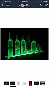 Liquor bottle led bar lights.
