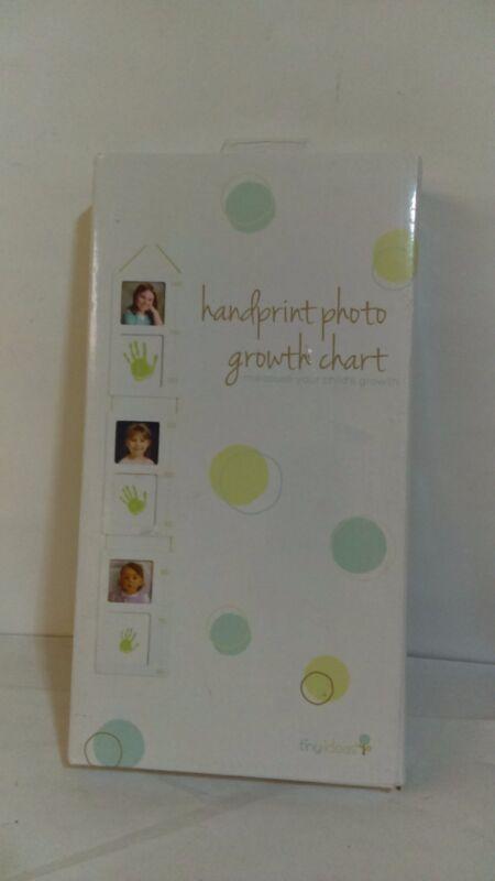 Tiny Ideas Hand Print Photo Growth Chart