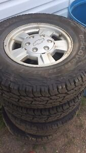 "15"" Chevy rims need gone."