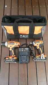 AEG 18v cordless drill & driver combo Engadine Sutherland Area Preview