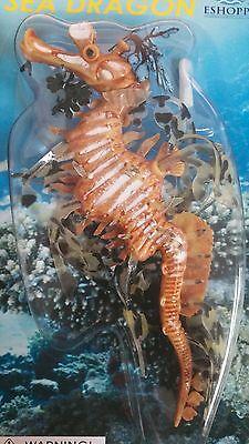 Sea Dragon fish aquarium floating Decoration Toy Floats Glows Looks Real (Floating Dragon)