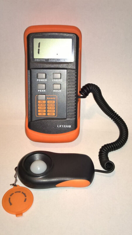 Digital Light Meter - Digital Light Meter 200K Lux Model LX1330B