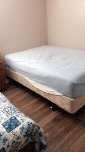 Free double bed
