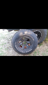 Patrol mag and new tyre Halls Head Mandurah Area Preview