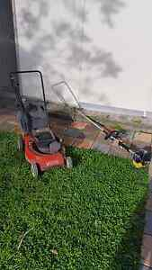 Victa 2 Stroke Lawnmower + Whipper Snipper Liverpool Liverpool Area Preview