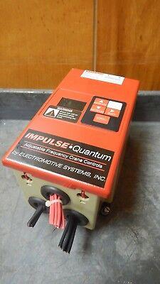 Yaskawa Electric Electromotive Ac Drive Quantum Crane Control 460v 2.3a 4002-afq