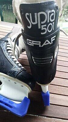 pattini da ghiaccio uomo ice skate hockey GRAF SUPRA 501 misura 43 (9)