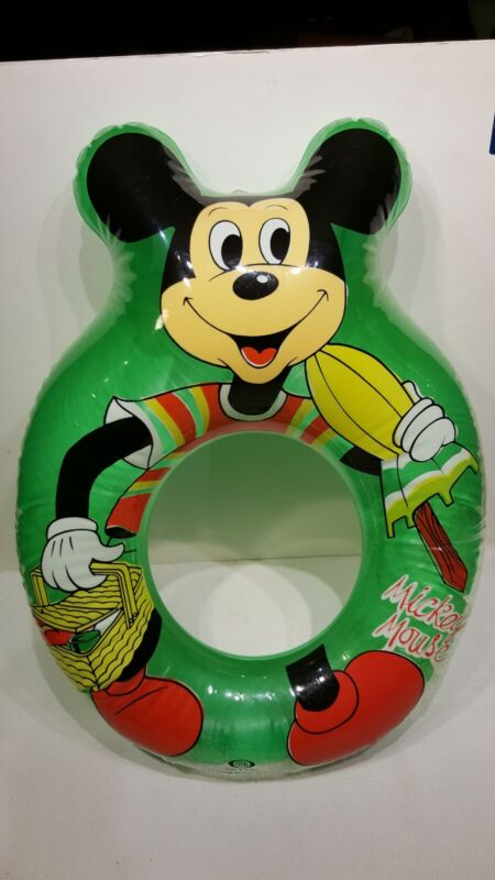 IDEAL MICKEY MOUSE  SWIM RING FLOATY  C. 1980