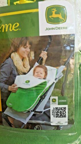 John Deere BundleMe Infant Stroller Car Seat Zipped Insulated Blanket JJ Cole