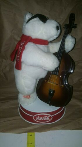 Coca-Cola Animated Electronic Cello Player  - FULLY FUNCTIONAL