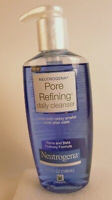Neutrogena Pore Refining Daily Cleanser Alpha & Beta Hydroxy Formula -