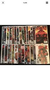 HULK #1-27 FULL RUN LOT(6,7 MICHAEL TURNER VARIANT)1st RED HULK