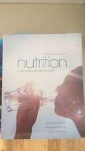 Nutrition a functional approach (Ryerson Nursing)