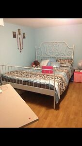IKEA Bed Frame,NEED GONE MONDAY MORNING!!!