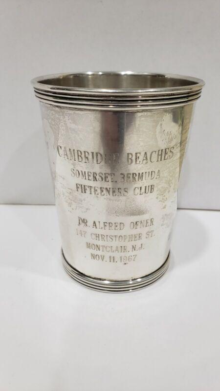Vintage ROGERS Sterling Silver Julep Cup