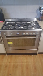 Stainless steel free standing omega oven Bilambil Heights Tweed Heads Area Preview