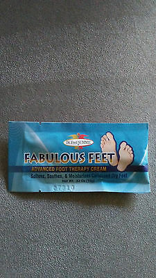 Dr. Fred Summit Fabulous Feet Advanced Foot Therapy Cream Callus Dry Skin .33 oz Dry Skin Therapy Foot Cream