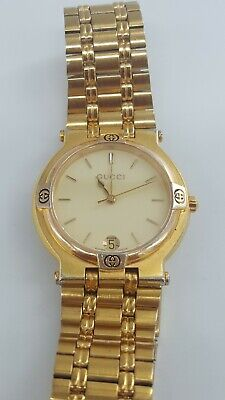 Vintage Gucci 9200L Gold Plated Ladies Watch Swiss Made