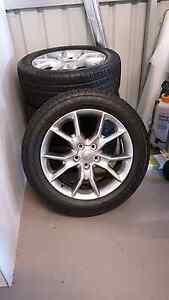 4 x genuine jeep wheels & tyres Waroona Waroona Area Preview