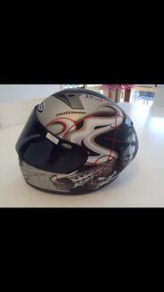 Motorbike Helmet KBC Gun Slinger Medium Size 'BNIB'