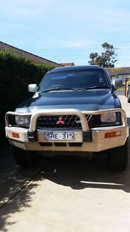 Mitsubishi Triton 2003 GLX dual cab Corio Geelong City Preview