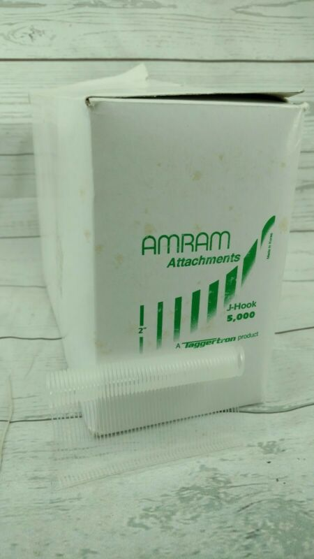 "Amram 2"" Two Inch Open Box J-Hook Attachments 5,000ish"