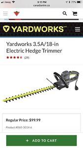 Yardworks Hedge Trimmer