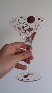 Cocktail Glasses x4 (Brand New)