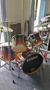 Tama drumkit . Double bass pedal Coolum Beach Noosa Area Preview