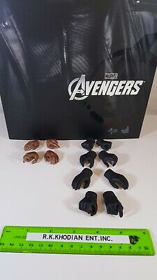 """Hot Toys MMS169 Marvel 12"""" Nick Fury 1/6 scale action figure"""