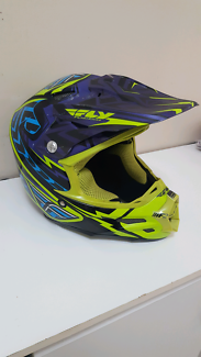 Motocross Helmet - Fly Racing F2 Carbon Andrew Short Replica