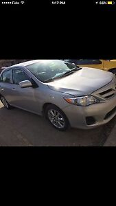 2011 Toyota Corolla with remote starter+Almost New Winter tires